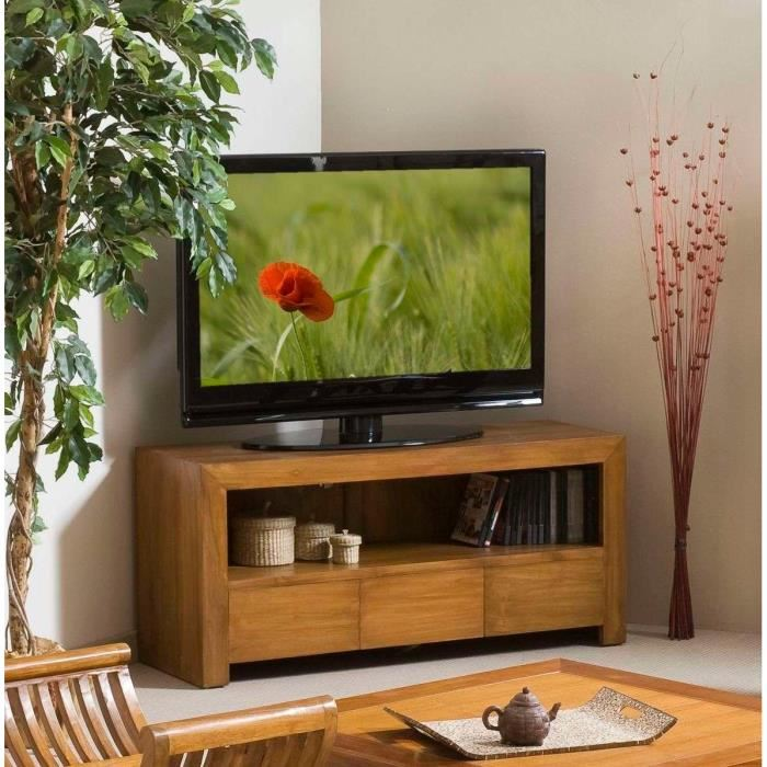 biarritz meuble tv en teck aucune pickture. Black Bedroom Furniture Sets. Home Design Ideas
