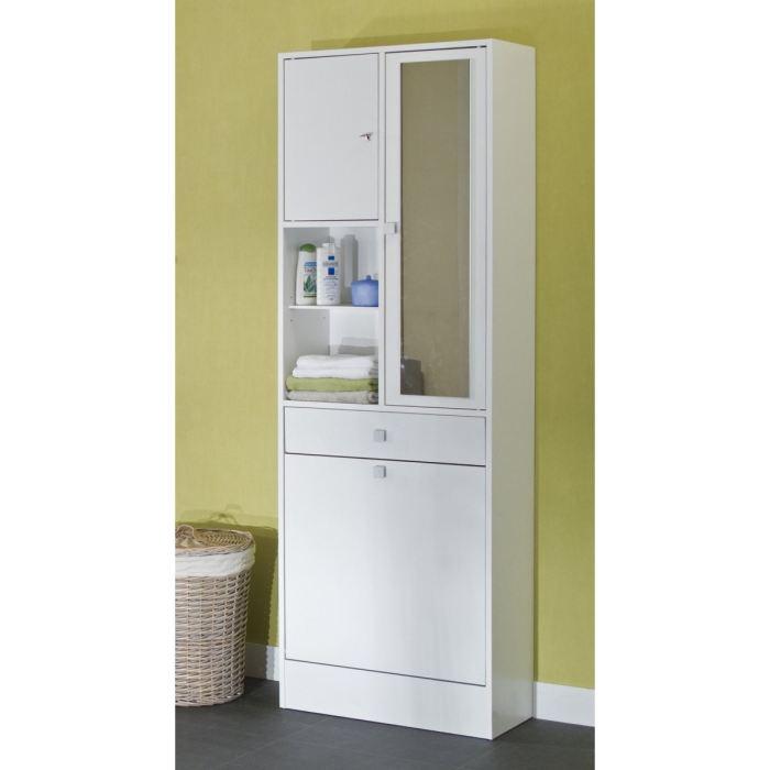 galet armoire bac a linge blanc 63x181cm aucune pickture. Black Bedroom Furniture Sets. Home Design Ideas