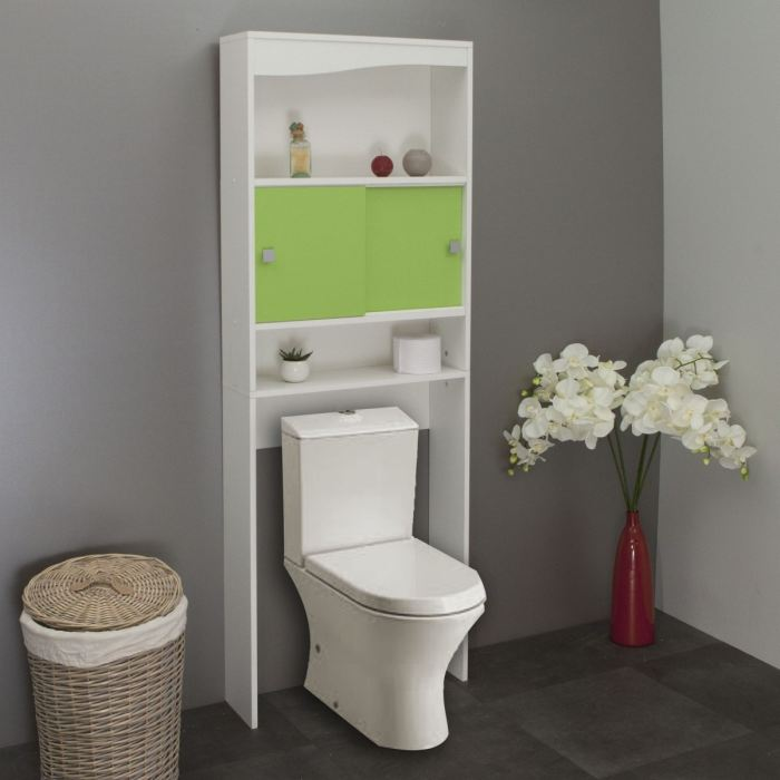 meuble wc machine a laver pomme verte aucune pickture. Black Bedroom Furniture Sets. Home Design Ideas