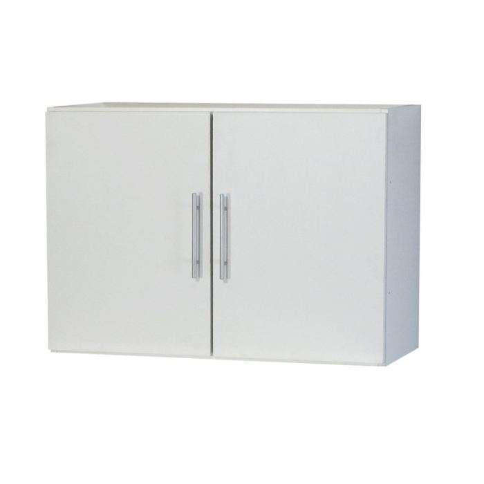 Trendy 1 Meuble Haut 2 Portes L80 Cm Blanc Aucune Pickture