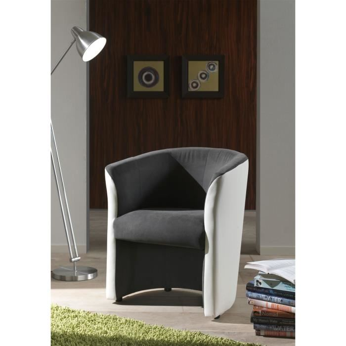 fauteuil cabriolet baya en tissu gris aucune pickture. Black Bedroom Furniture Sets. Home Design Ideas