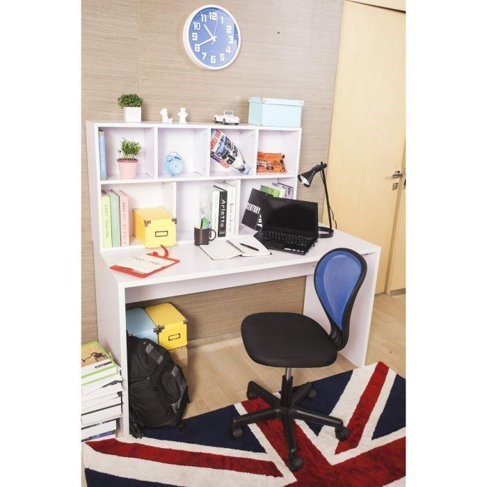 Chaise de bureau squash noire et bleu turquoise aucune for Acheter chaise de bureau