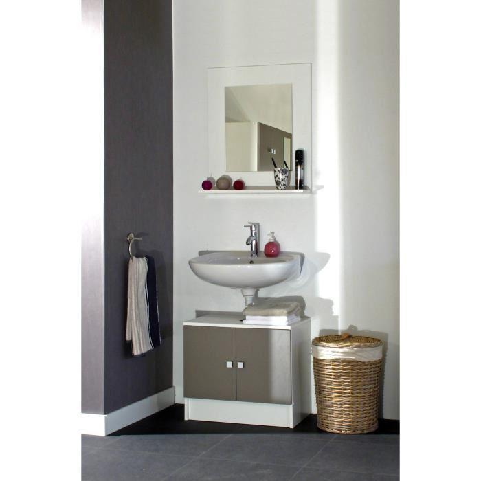 Galet salle de bain taupe aucune pickture for Salle de bain urbaine