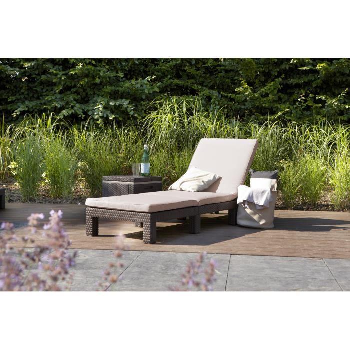 daytona bain de soleil aspect rotin tress allibert. Black Bedroom Furniture Sets. Home Design Ideas