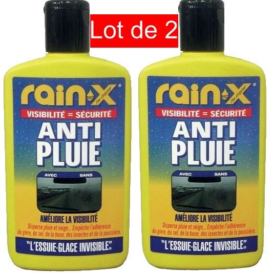 traitement rainx anti pluie 200ml pack de 2 aucune pickture. Black Bedroom Furniture Sets. Home Design Ideas