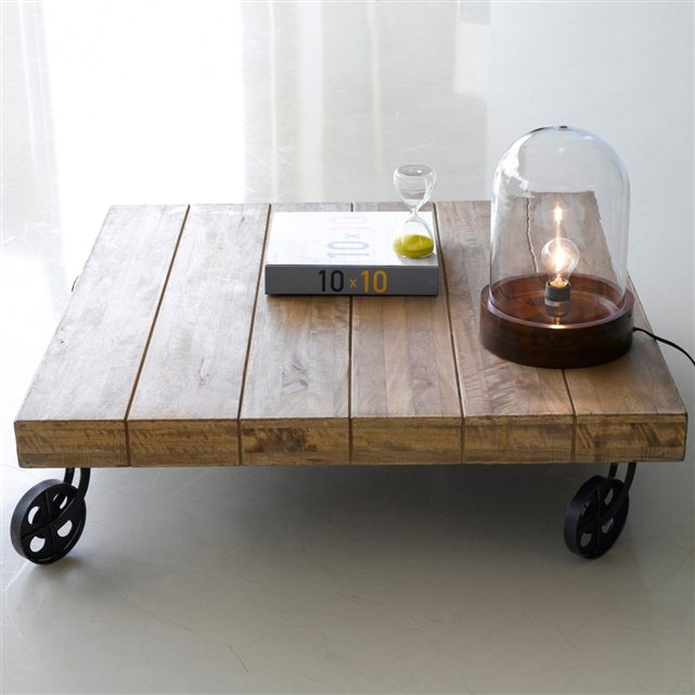 Table basse origin manguier massif la redoute pickture - Table basse en manguier ...
