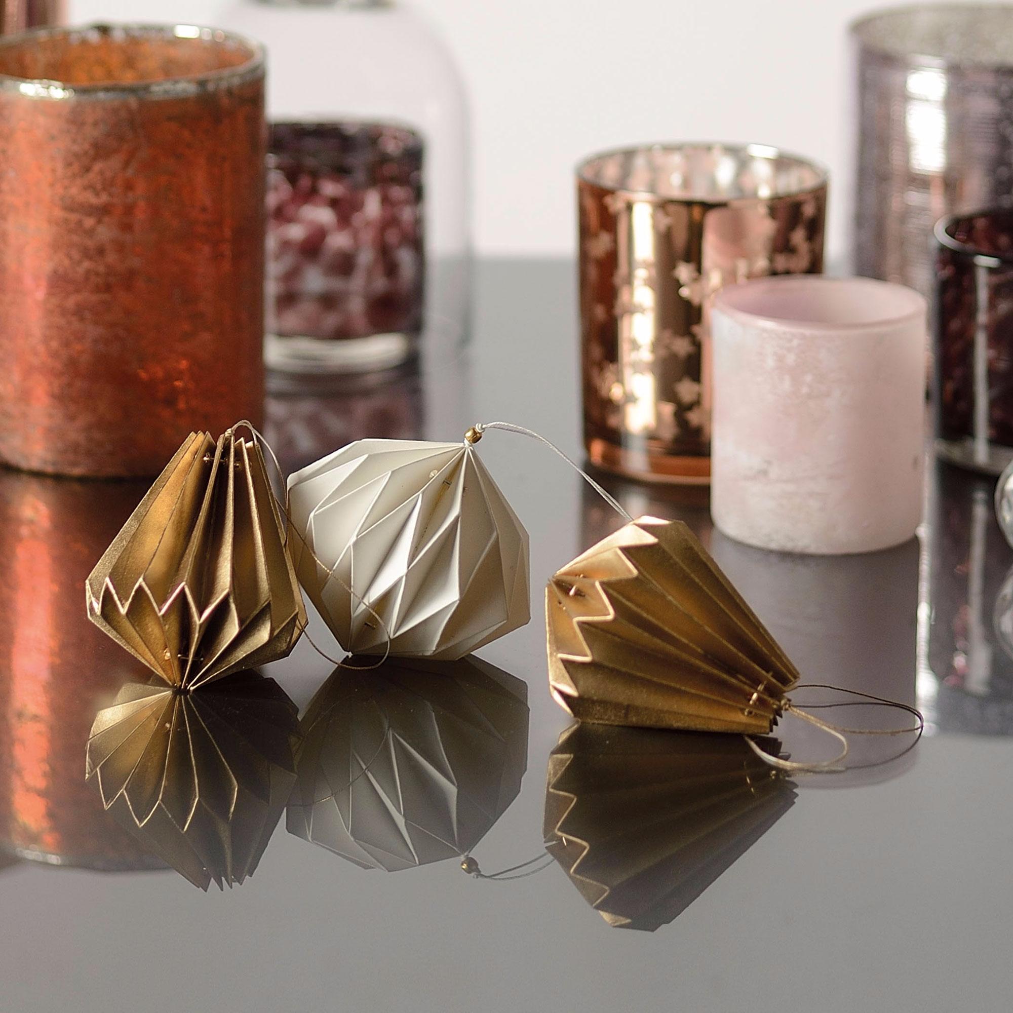 Diamant d coratif en papier suspendre jardin d 39 ulysse - Jardin d ulysse paris ...