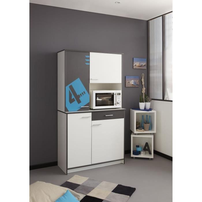 buffet surfing d cor blanc et gris aucune pickture. Black Bedroom Furniture Sets. Home Design Ideas