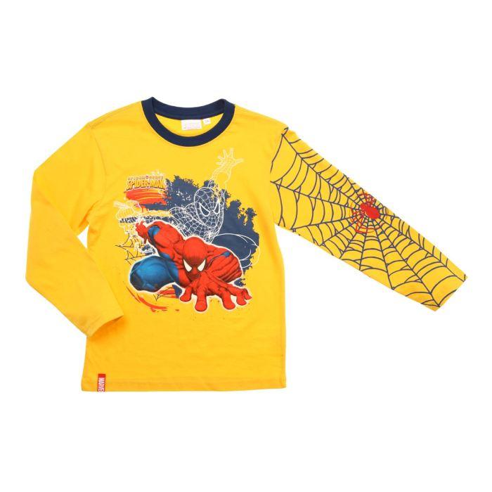 spiderman t shirt gar on corn aucune pickture. Black Bedroom Furniture Sets. Home Design Ideas