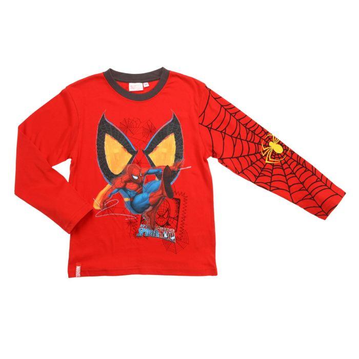 spiderman t shirt gar on rouge aucune pickture. Black Bedroom Furniture Sets. Home Design Ideas