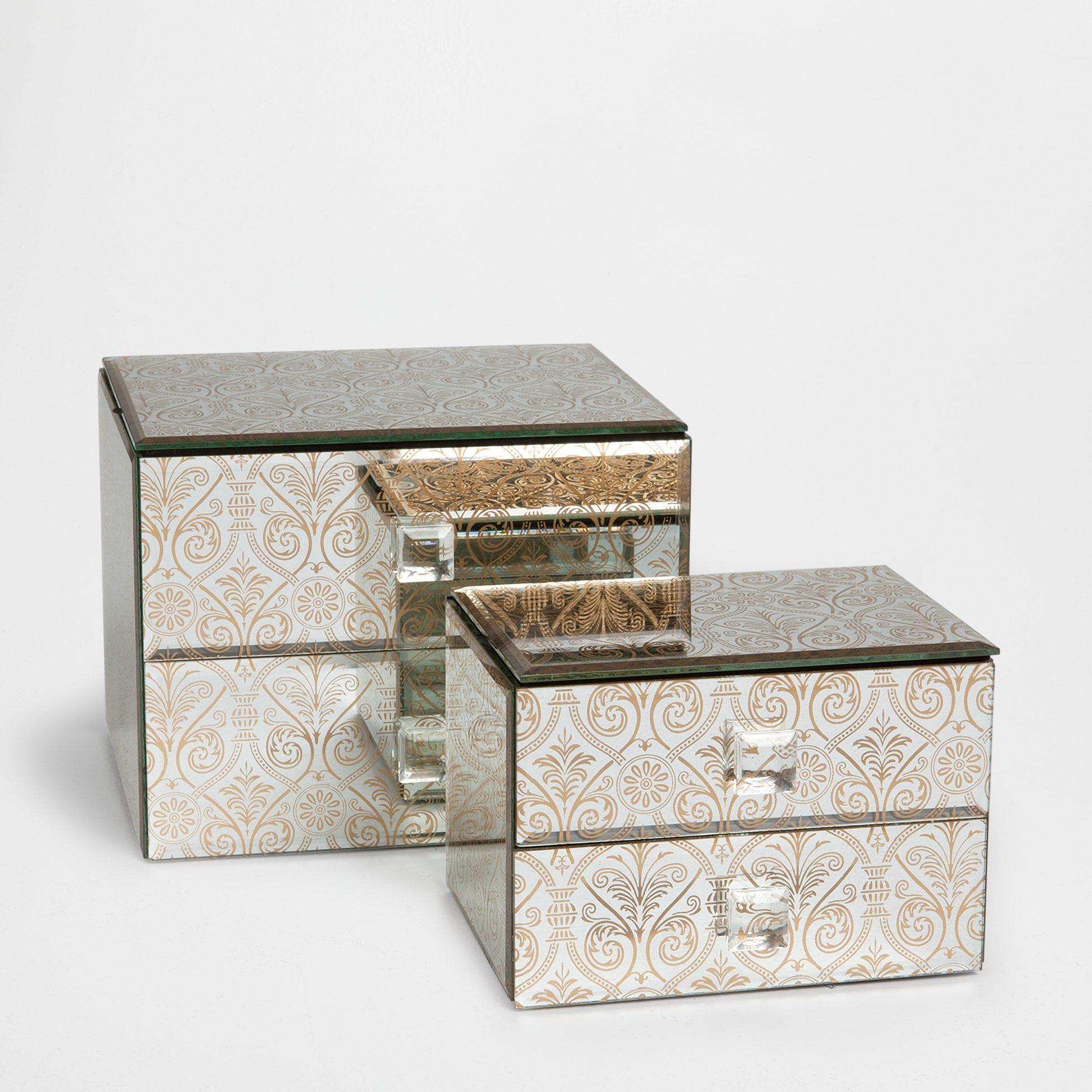 bo te miroir tiroirs zara home pickture. Black Bedroom Furniture Sets. Home Design Ideas