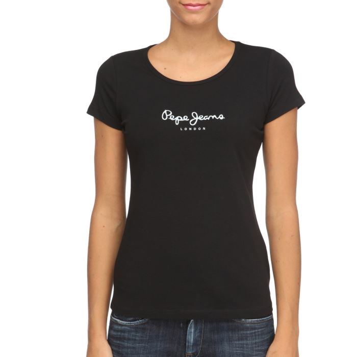 pepe jeans t shirt femme pepe jeans pickture. Black Bedroom Furniture Sets. Home Design Ideas