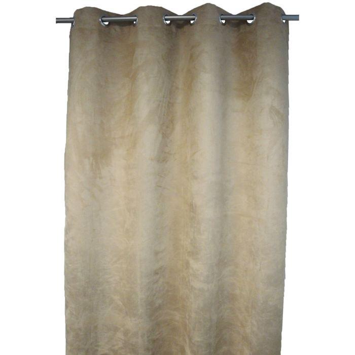 rideau suedine faro 140x260 aucune pickture. Black Bedroom Furniture Sets. Home Design Ideas