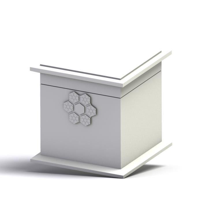 boite a bijoux fleur personnalis e aucune pickture. Black Bedroom Furniture Sets. Home Design Ideas