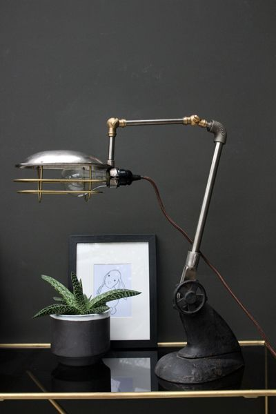 lampe de bureau style industriel rockett st george pickture. Black Bedroom Furniture Sets. Home Design Ideas