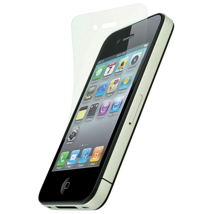 protections d 39 cran iphone 4 4s aucune pickture. Black Bedroom Furniture Sets. Home Design Ideas