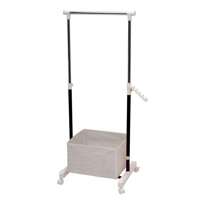 portant a roulette couleur aluminium aucune pickture. Black Bedroom Furniture Sets. Home Design Ideas