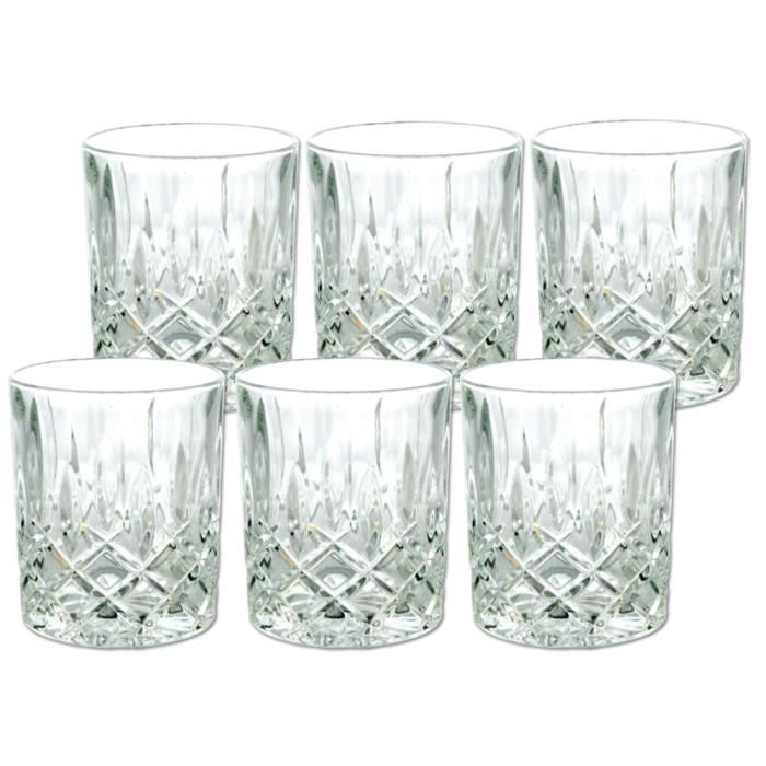 lot de 6 verres a whisky cristal 24 plomb aucune pickture. Black Bedroom Furniture Sets. Home Design Ideas