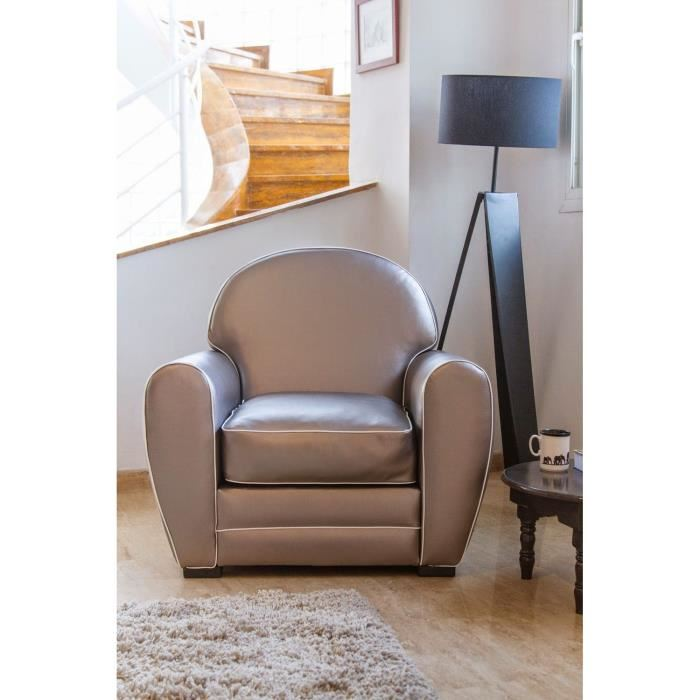 zen fauteuil club gris cosy et confortable aucune pickture. Black Bedroom Furniture Sets. Home Design Ideas