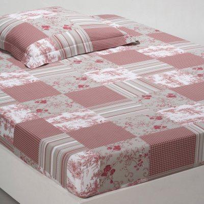 drap housse imprim patchwork la redoute pickture. Black Bedroom Furniture Sets. Home Design Ideas