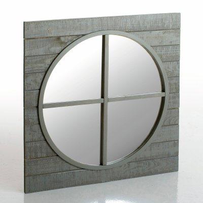miroir oeil de boeuf pin carise la redoute pickture. Black Bedroom Furniture Sets. Home Design Ideas