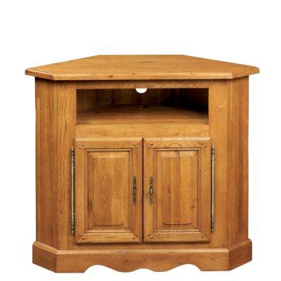 Meuble tv d 39 angle la bresse 100 ch ne 2 portes la - La redoute fr meubles ...