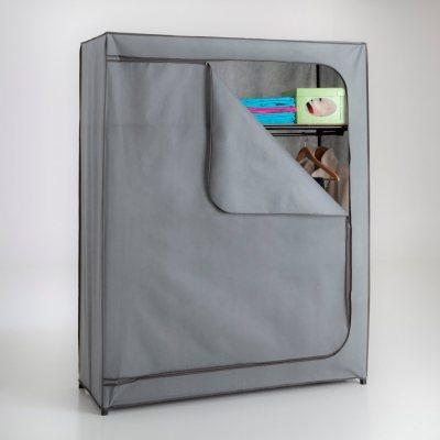 armoire penderie avec tag re intiss la redoute pickture. Black Bedroom Furniture Sets. Home Design Ideas