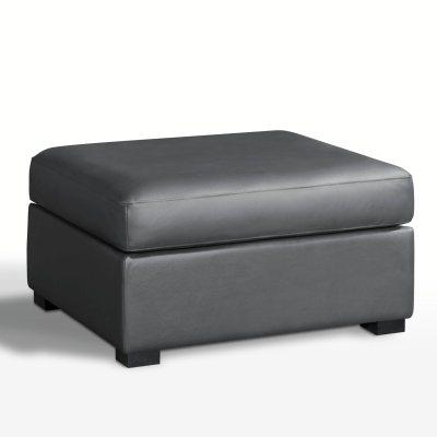 pouf sup ou excellence cuir robin la redoute pickture. Black Bedroom Furniture Sets. Home Design Ideas