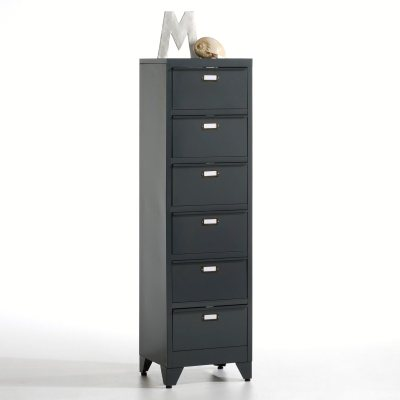 chiffonnier clapets en m tal hiba la redoute pickture. Black Bedroom Furniture Sets. Home Design Ideas