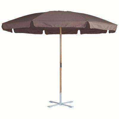 parasol m t ramin massif rond ou rectangulaire 3 la redoute pickture. Black Bedroom Furniture Sets. Home Design Ideas