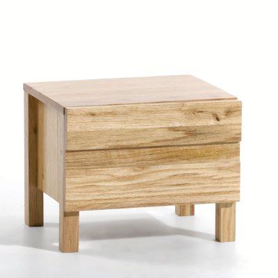 chevet ch ne massif ariles la redoute pickture. Black Bedroom Furniture Sets. Home Design Ideas