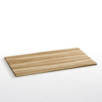 Plateau de bureau rectangulaire en mdf plaqu la redoute for La redoute chaise de bureau