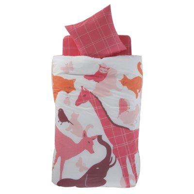parure housse de couette taie pour enfant pink la redoute pickture. Black Bedroom Furniture Sets. Home Design Ideas