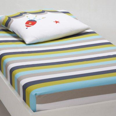 drap housse enfant alan la redoute pickture. Black Bedroom Furniture Sets. Home Design Ideas