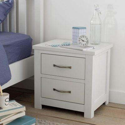 chevet 2 tiroirs jimi la redoute pickture. Black Bedroom Furniture Sets. Home Design Ideas
