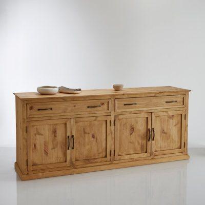 buffet 4 portes 2 tiroirs malu la redoute pickture. Black Bedroom Furniture Sets. Home Design Ideas