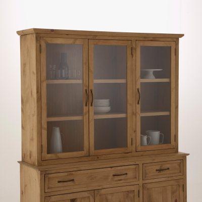 vaisselier haut 3 portes malu la redoute pickture. Black Bedroom Furniture Sets. Home Design Ideas
