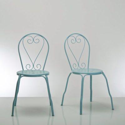 Chaise de jardin m tal ajour lot de 2 ozemie la redoute pickture - La redoute chaise de jardin ...