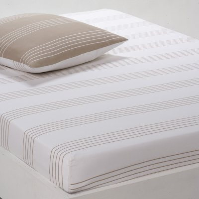 drap housse imprim horizon la redoute pickture. Black Bedroom Furniture Sets. Home Design Ideas