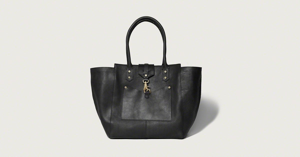 Womens The City Carryall Genuine Leather Bag