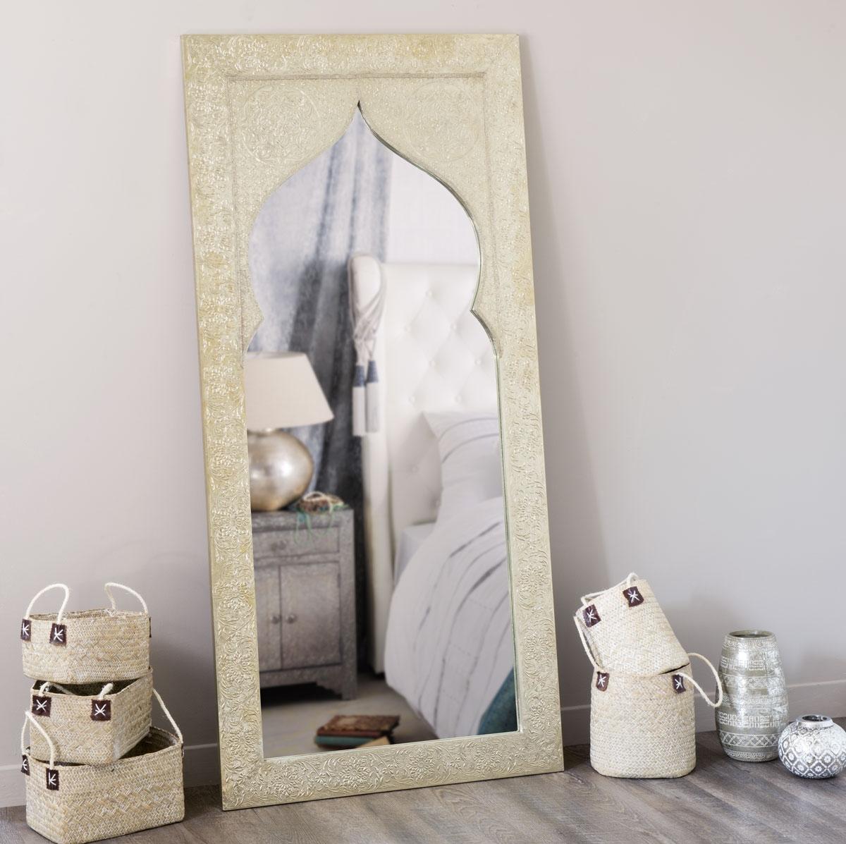 Miroir latipur maisons du monde pickture for Miroir maison du monde