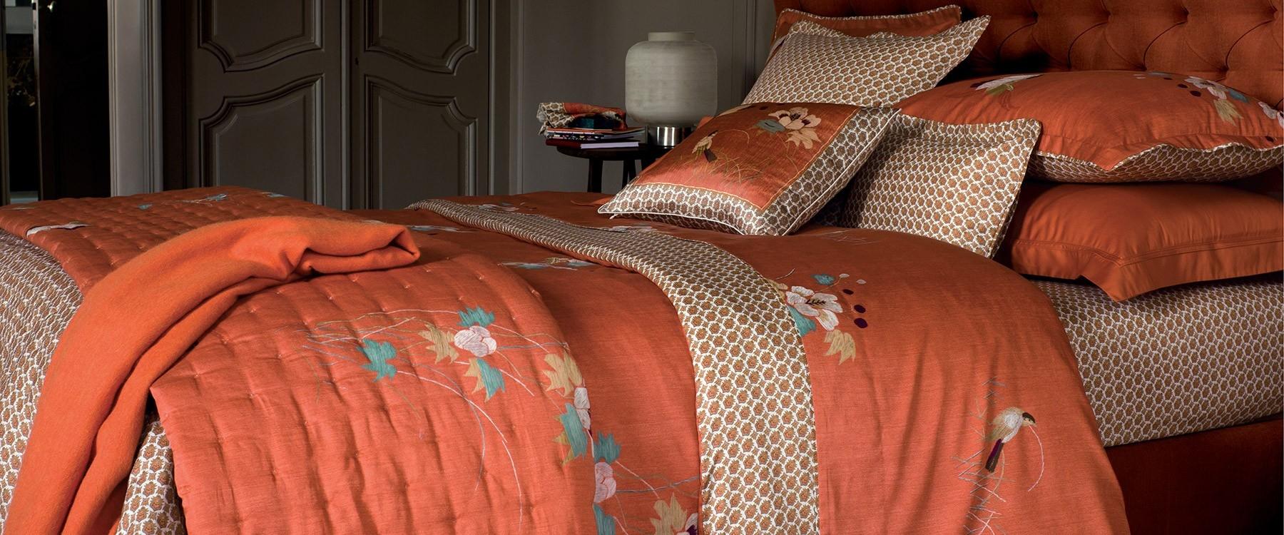 linge de lit satin coton yves delorme pickture. Black Bedroom Furniture Sets. Home Design Ideas