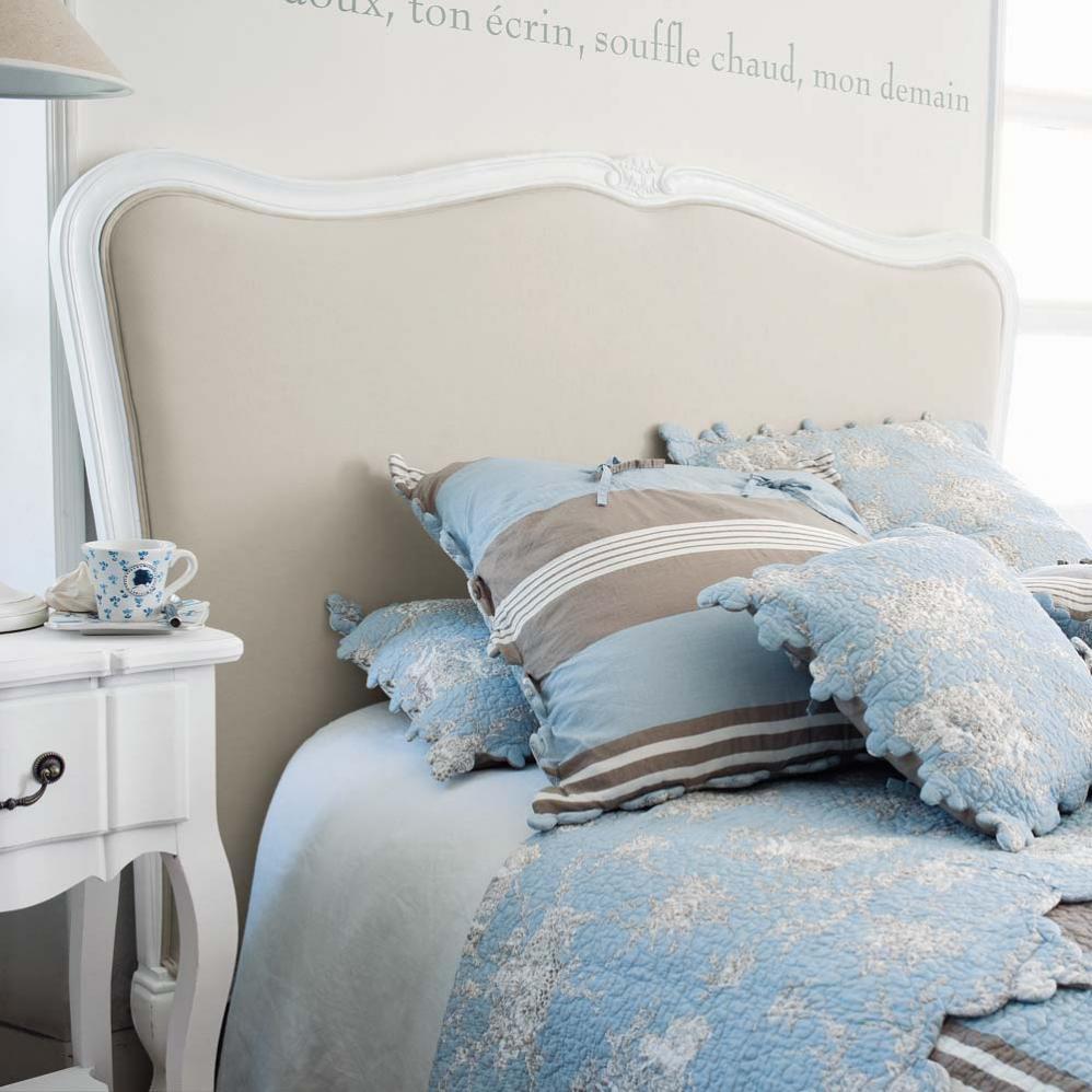 T te de lit 160 cm maisons du monde pickture - Tete de lit capitonnee maison du monde ...